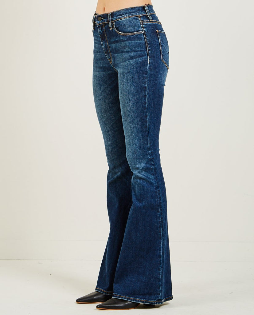HUDSON-HOLLY HIGH RISE FLARE JEANS VAGABOND-Women Bootcut-{option1]