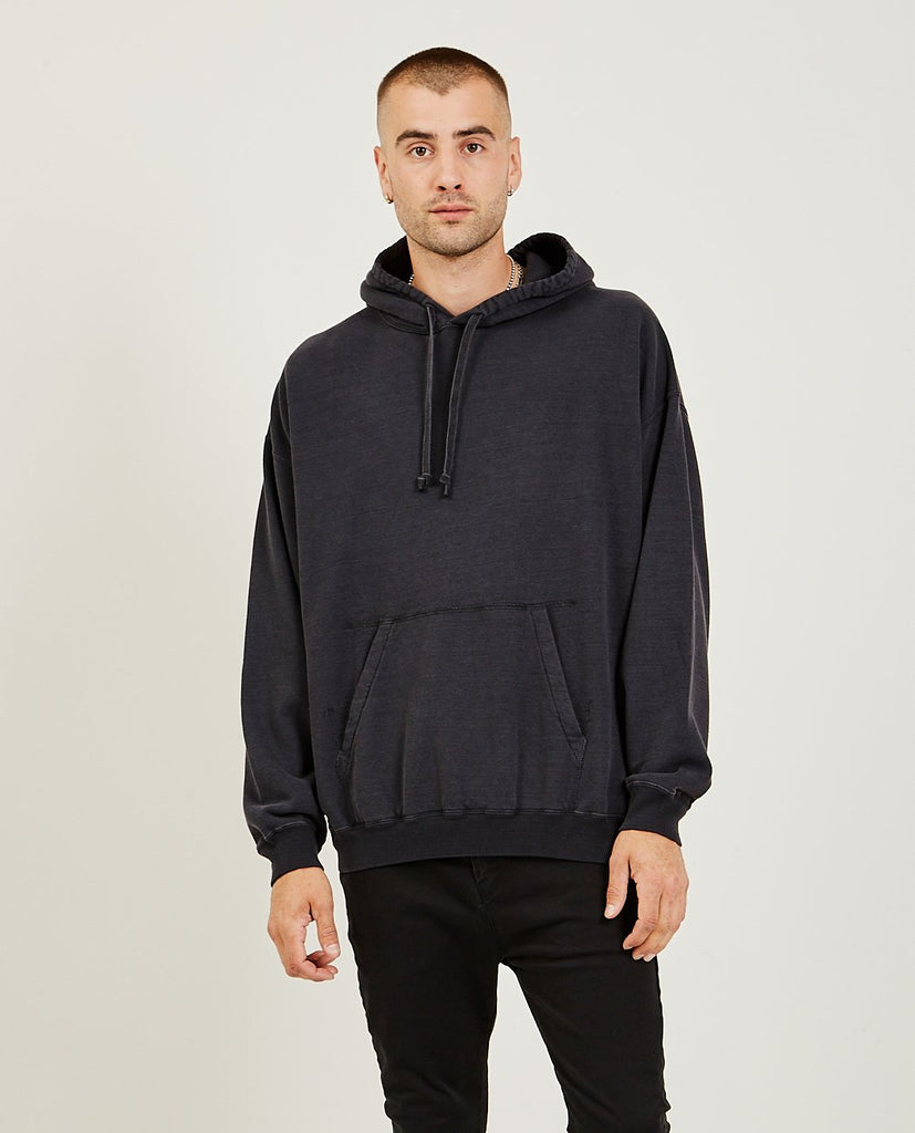 REMI RELIEF-Hoodie Black-Men Sweaters + Sweatshirts-{option1]