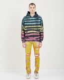 SYNC DENIM-HOODIE ZEBRA STRIPE MULTI-Men Sweaters + Sweatshirts-{option1]