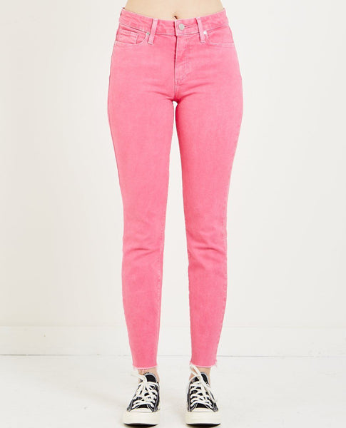 PAIGE HOXTON ANKLE JEAN VINTAGE HOT PINK