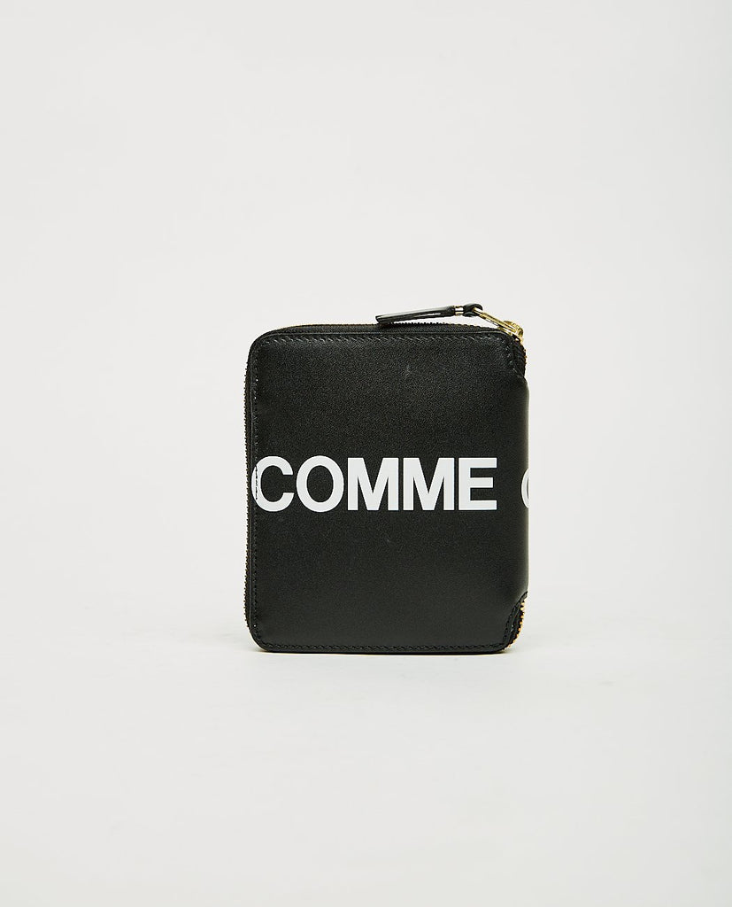 COMME DES GARÇONS WALLET-Huge Logo Zip Wallet-UNISEX BAGS & WALLETS-{option1]