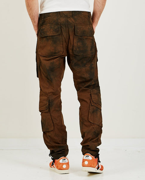 HUDSON Hunter Cargo Pant Black Tie Dye