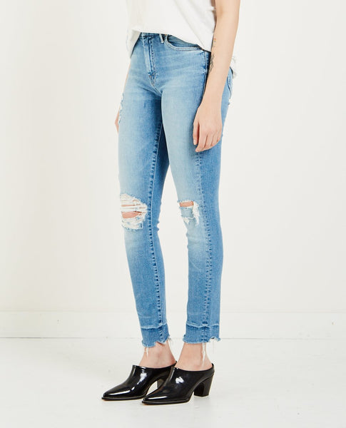 MOTHER HW LOOKER ANKLE CHEW JEANS
