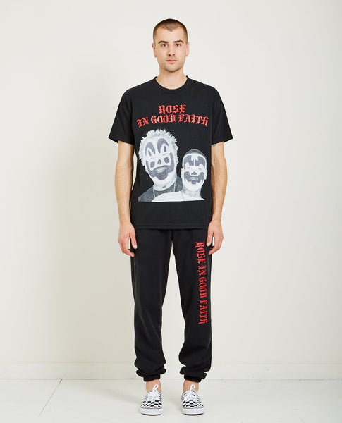 ROSE IN GOOD FAITH ICP BEDAZZLED TEE