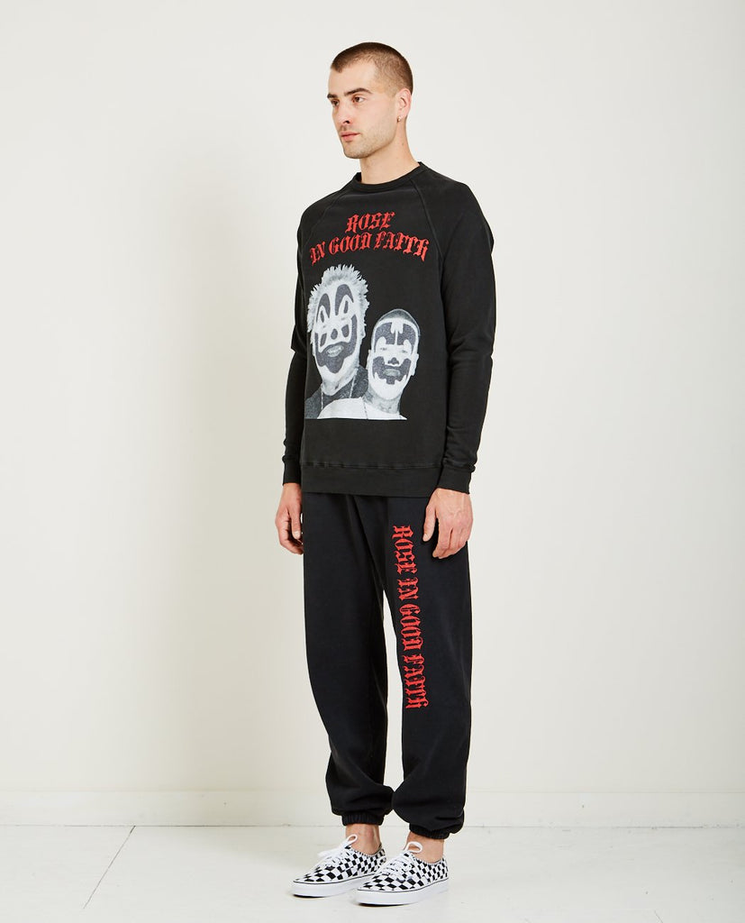 ICP CREWNECK SWEATSHIRT-ROSE IN GOOD FAITH-American Rag Cie