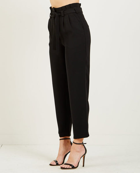 JUST FEMALE IDA TROUSERS BLACK