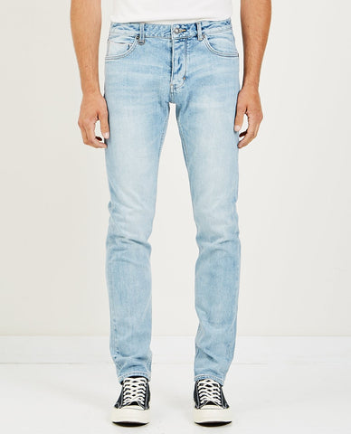 NAKED & FAMOUS SUPER SKINNY GUY INDIGO SELVEDGE DUCK