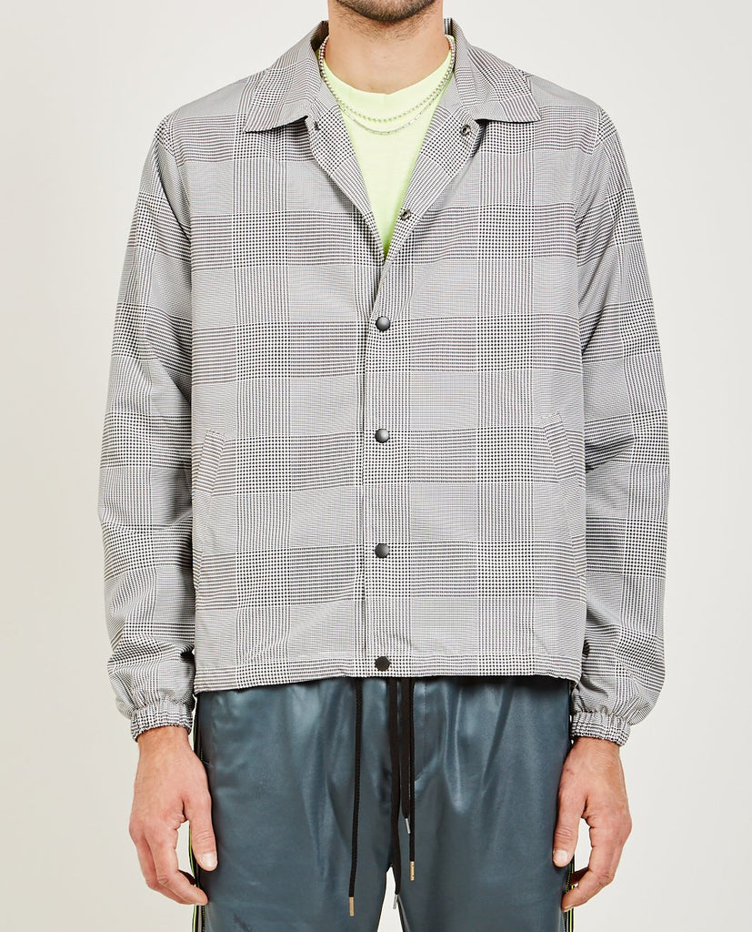 CMMN SWDN-IGOR TECHNICAL COACH JACKET-Men Coats + Jackets-{option1]