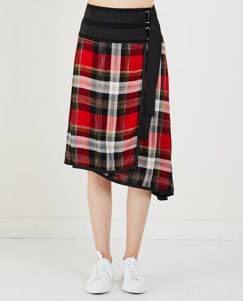 PUBLIC SCHOOL ILHA COTTON POPLIN SKIRT