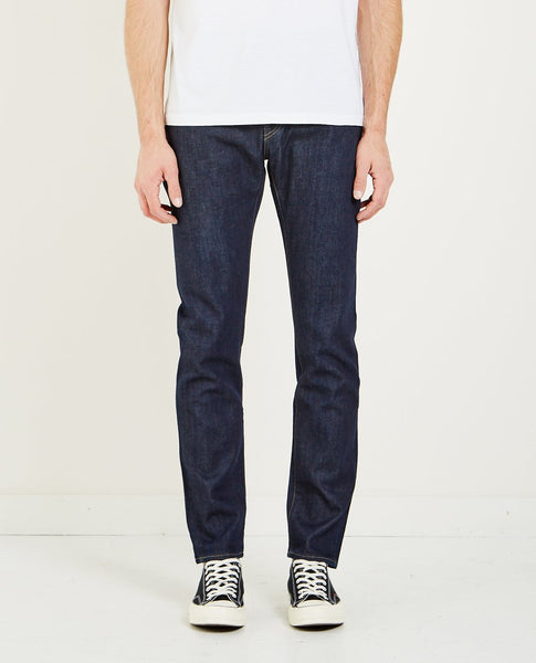 LEVI'S: MADE & CRAFTED INDIGO RESIN RINSE TACK SLIM JEAN