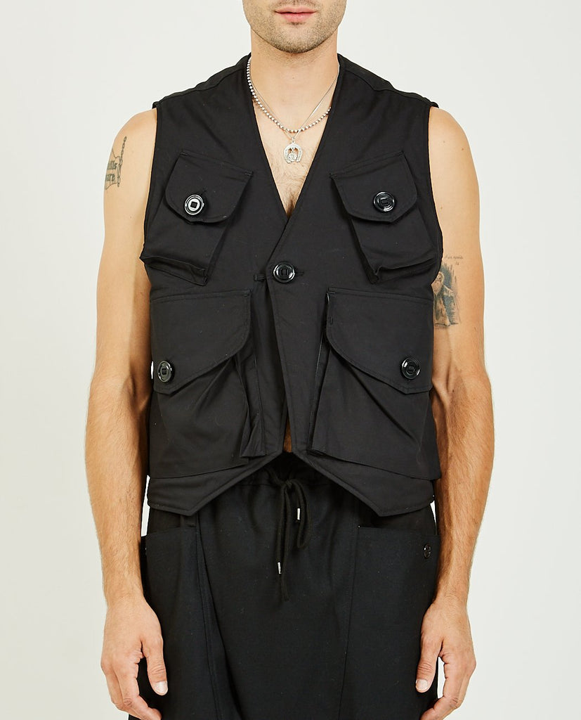 INSULATED MILITARY VEST TYPE-C-MONITALY-American Rag Cie