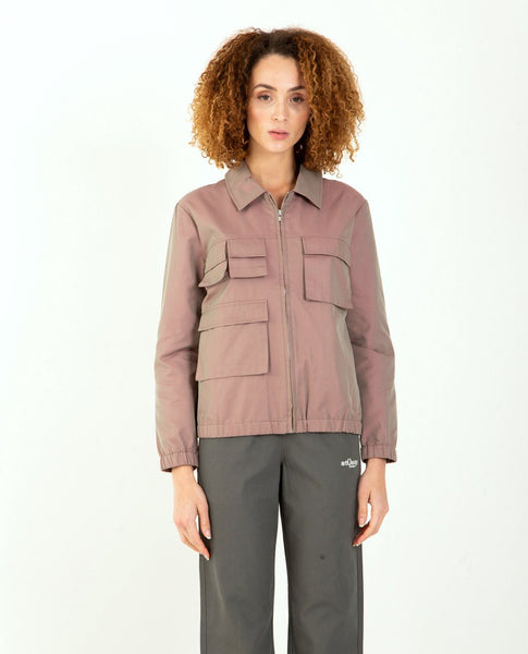 STUSSY Iridescent Multi Pocket Jacket