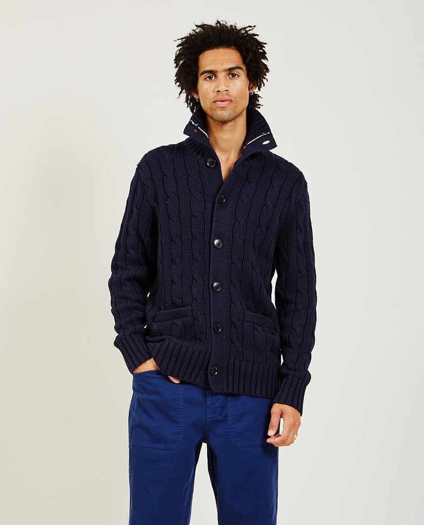 ALEX MILL Jack Cable Cardigan