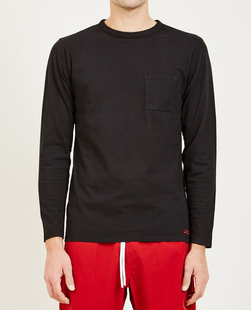 SATURDAYS NYC-JAMES PIMA LONG SLEEVE TEE-Men Tees + Tanks-{option1]