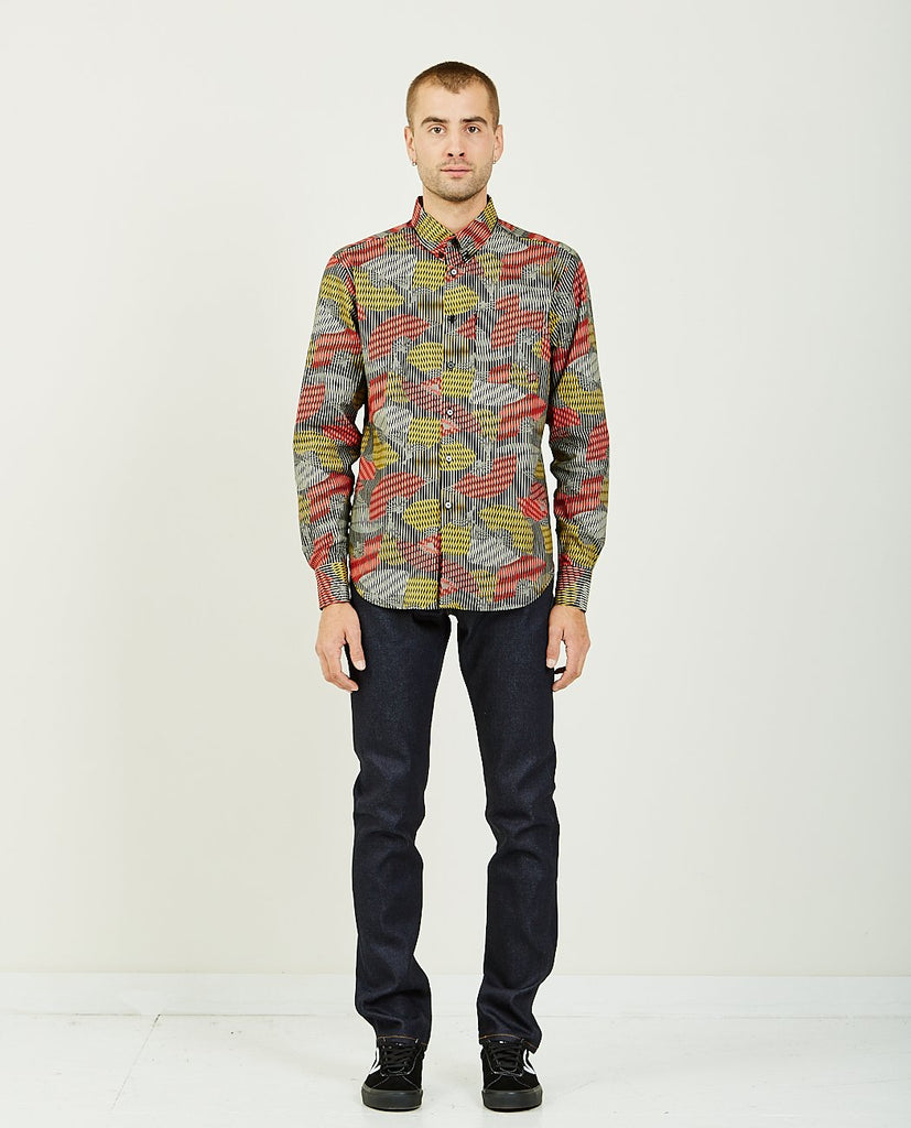 NAKED & FAMOUS Japanese Sensu Easy Shirt