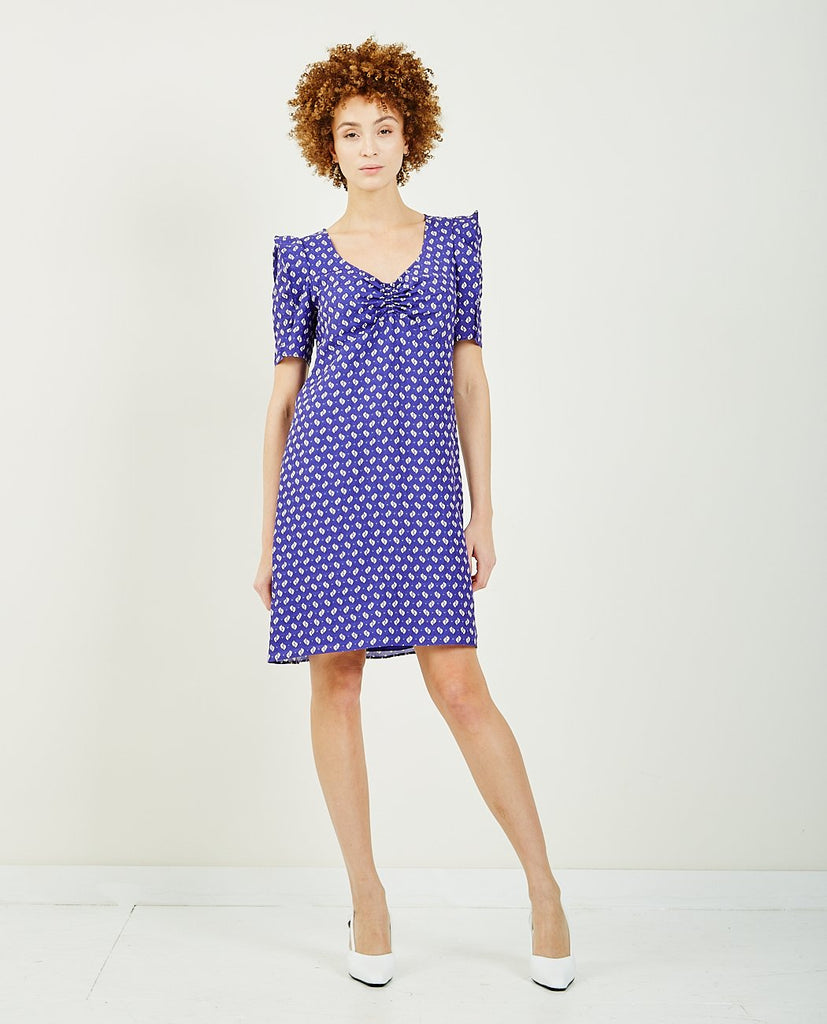KENZO-Japanese Sleeve Shift Dress-DRESSES-{option1]