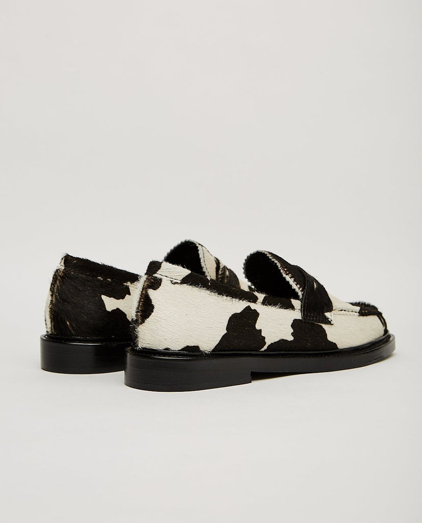 NICOLE SALDAÑA-JAY 3.0 COW PRINTED FUR LOAFER-Women Flats-{option1]