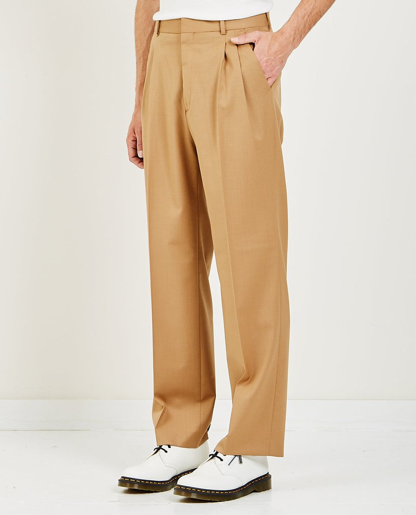 CMMN SWDN-JAY PLEATED TROUSERS-Men Pants-{option1]
