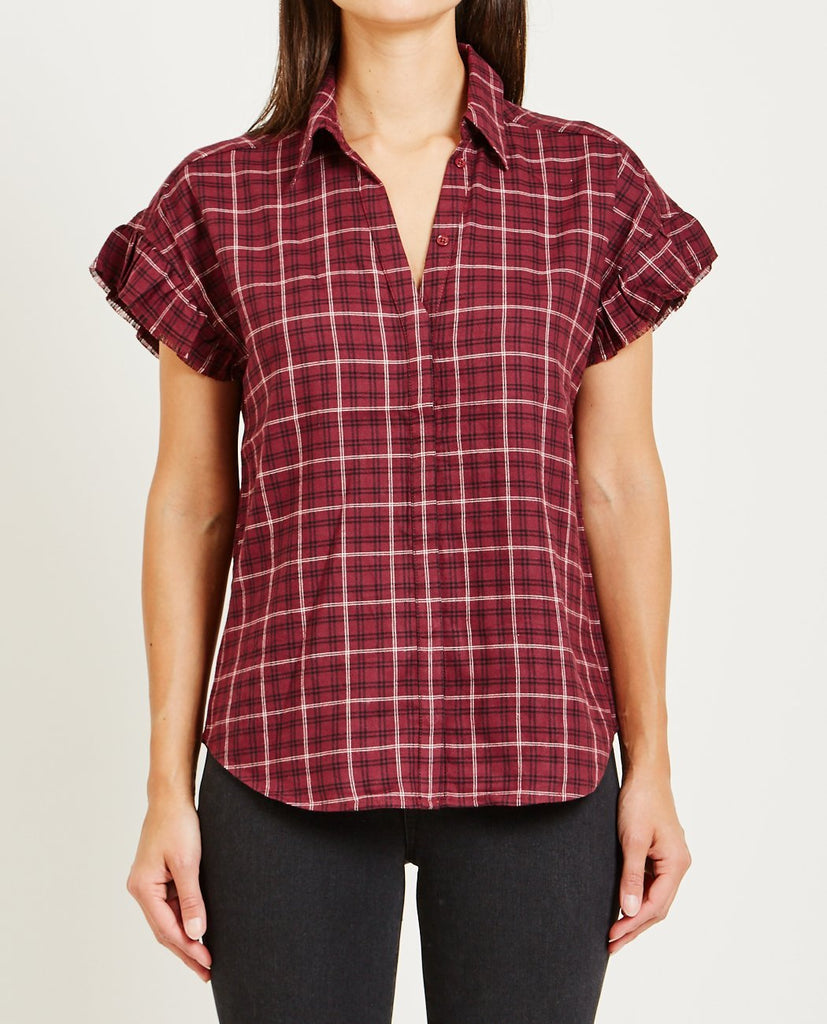 PAIGE-JAYLIN SHIRT DARK CURRANT-Blouses-{option1]