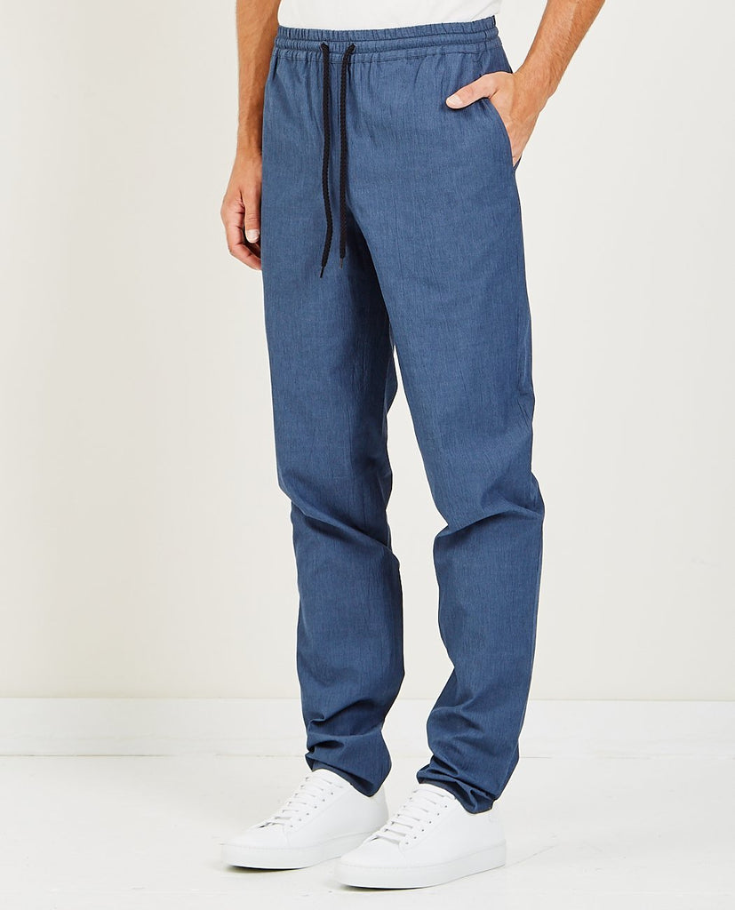 EDITIONS M.R. JEAN FRANCOIS JOGGING PANTS BLUE STORM
