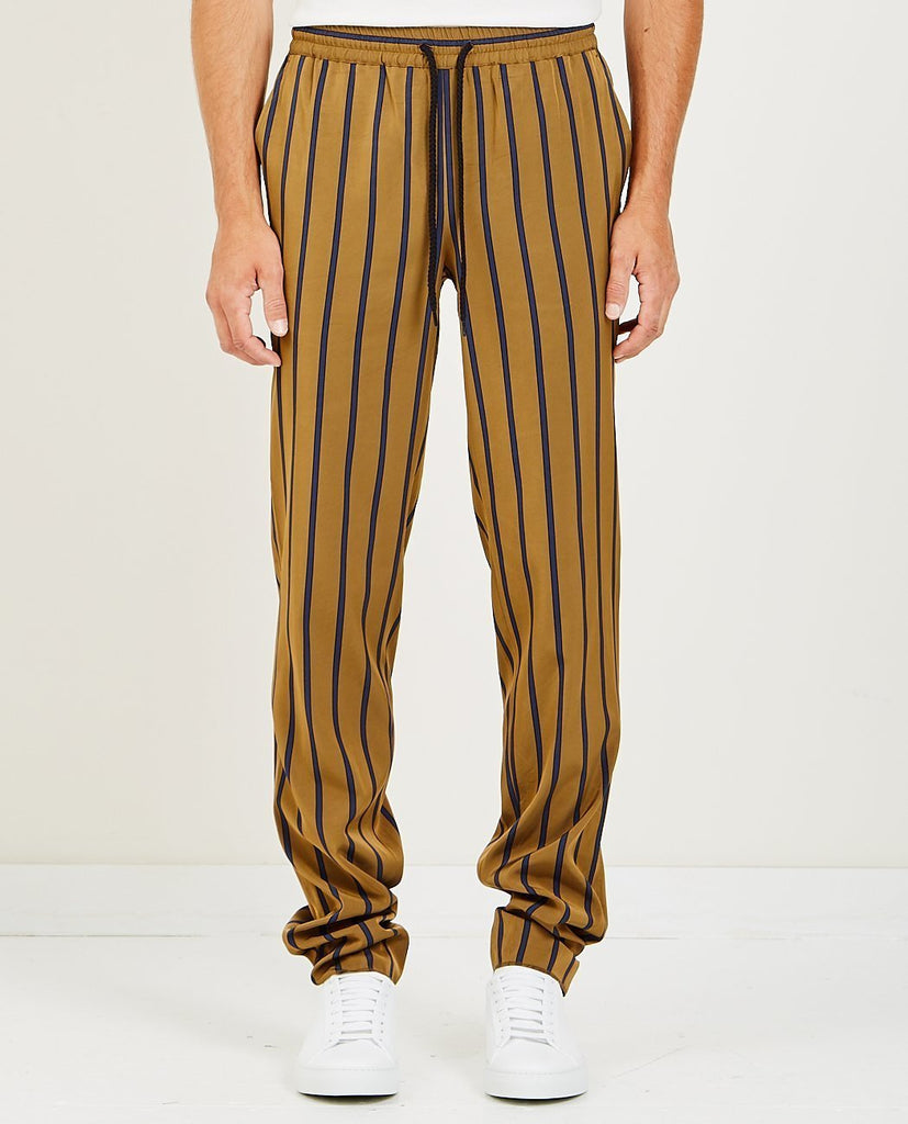 EDITIONS M.R.-JEAN FRANCOIS JOGGING PANTS TOBACCO-Men Pants-{option1]