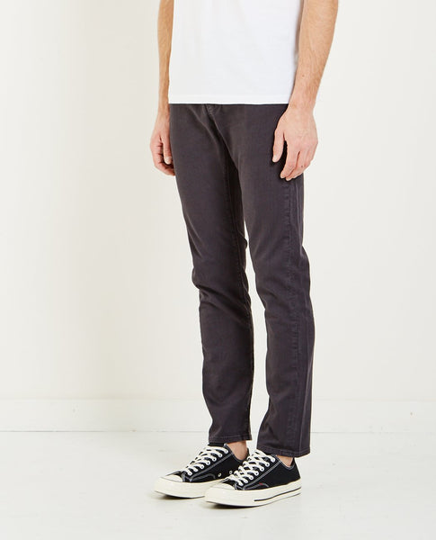 LEVI'S: MADE & CRAFTED JET BLACK TACK SLIM JEAN