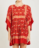 SPELL & THE GYPSY-JEWEL TUNIC DRESS COPPER-DRESSES-{option1]