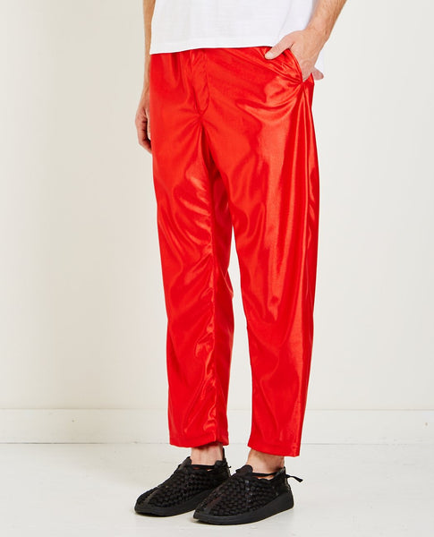 ENGINEERED GARMENTS JOG PANT POLYESTER DAZZLE RED