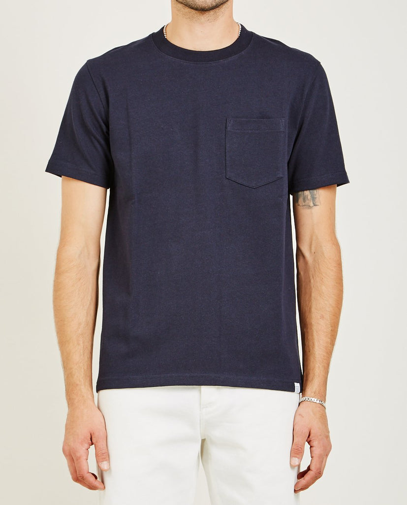 JOHANNES POCKET TEE-NORSE PROJECTS-American Rag Cie