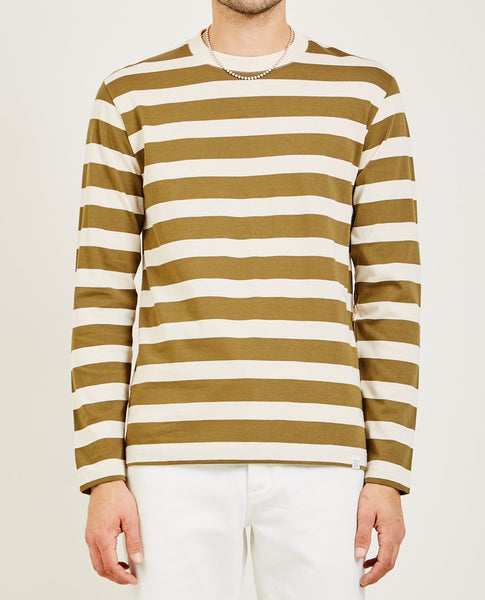 NORSE PROJECTS JOHANNES RUGBY STRIPE LONG SLEEVE