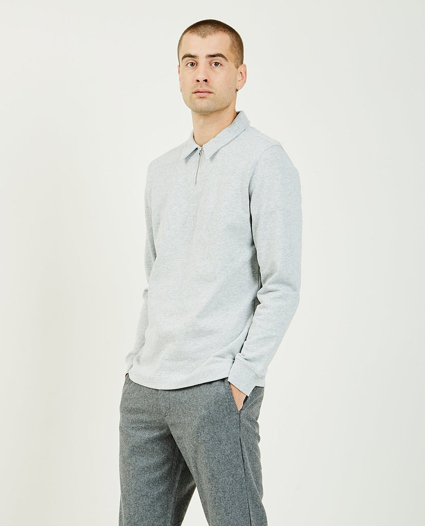 NORSE PROJECTS-Jorn Half Zip Sweatshirt-Men Sweaters + Sweatshirts-{option1]