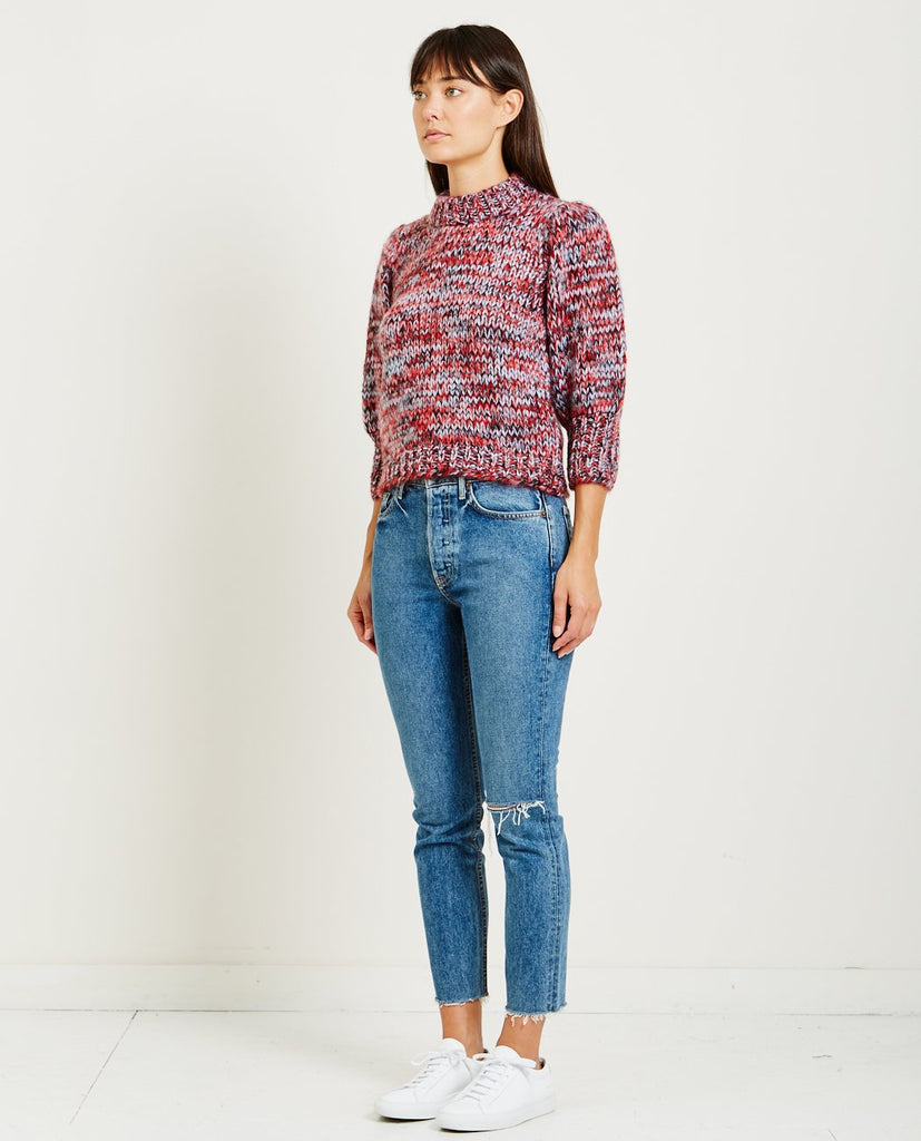 GANNI-JULLIARD MOHAIR PULLOVER-Women Sweaters + Sweatshirts-{option1]
