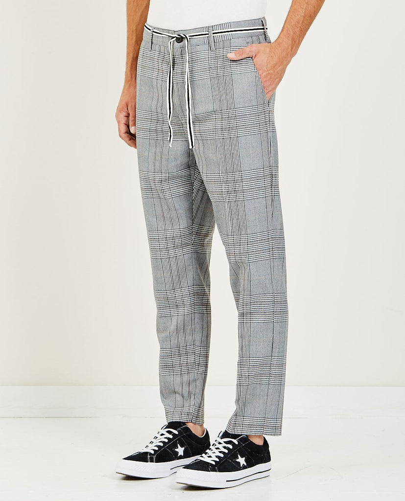 JUMPA PLAID CHINO PANT GREY-ZANEROBE-American Rag Cie