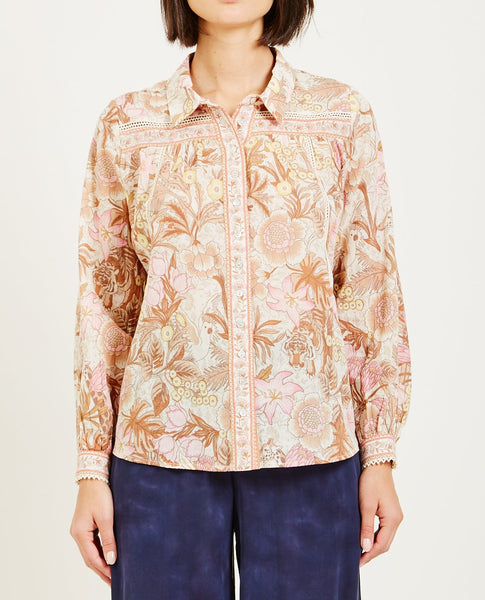 SPELL & THE GYPSY JUNGLE BLOUSE CREAM