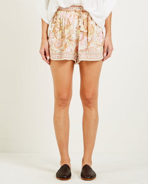 SPELL & THE GYPSY JUNGLE FLUTTER SHORTS CREAM