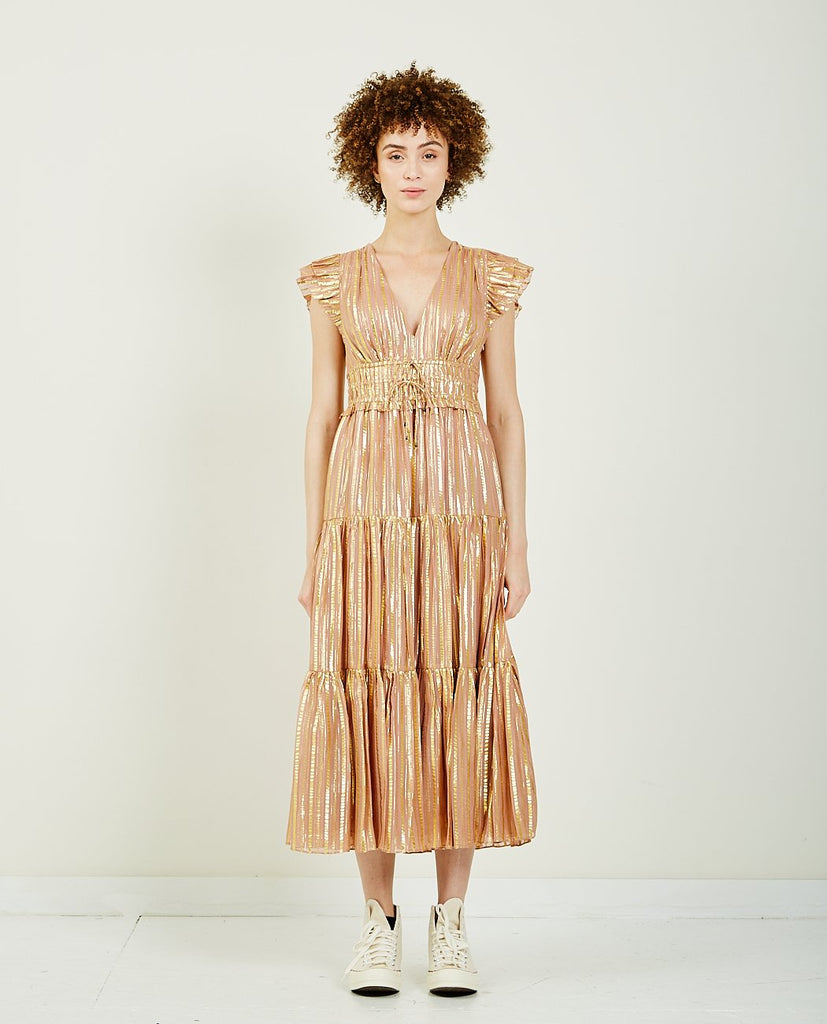 ULLA JOHNSON-JUSTYNE DRESS-DRESSES-{option1]