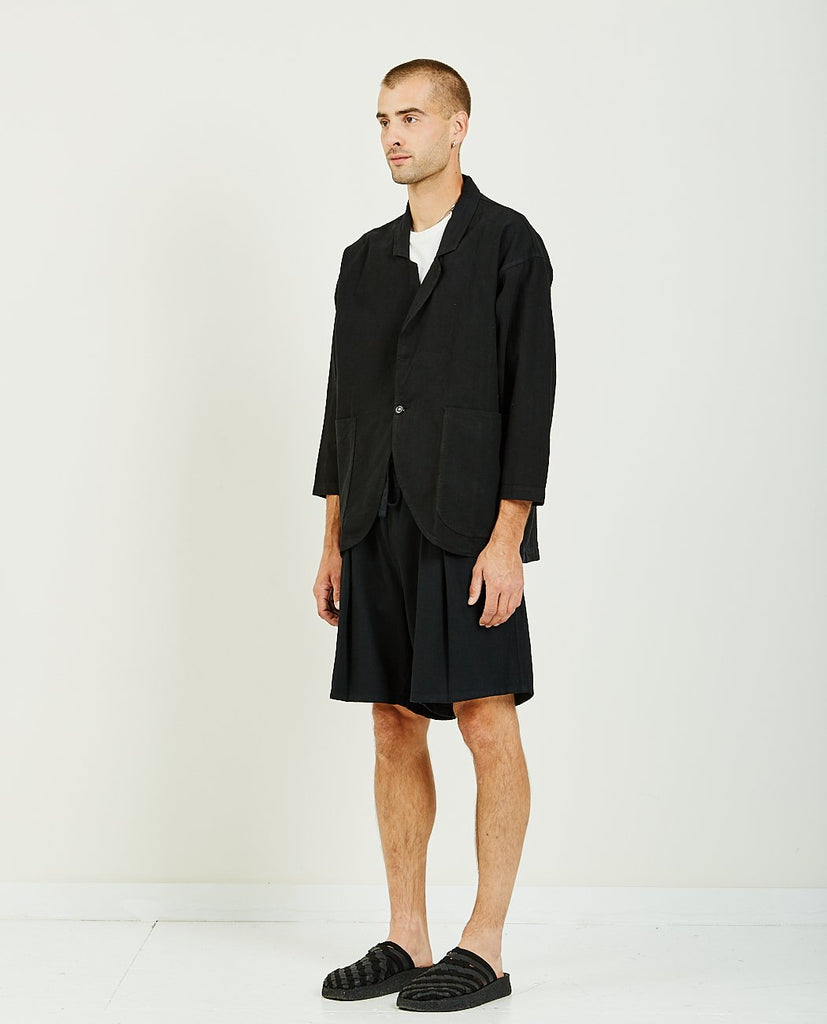PROSPECTIVE FLOW-Kashi Blazer Black-Men Coats + Jackets-{option1]