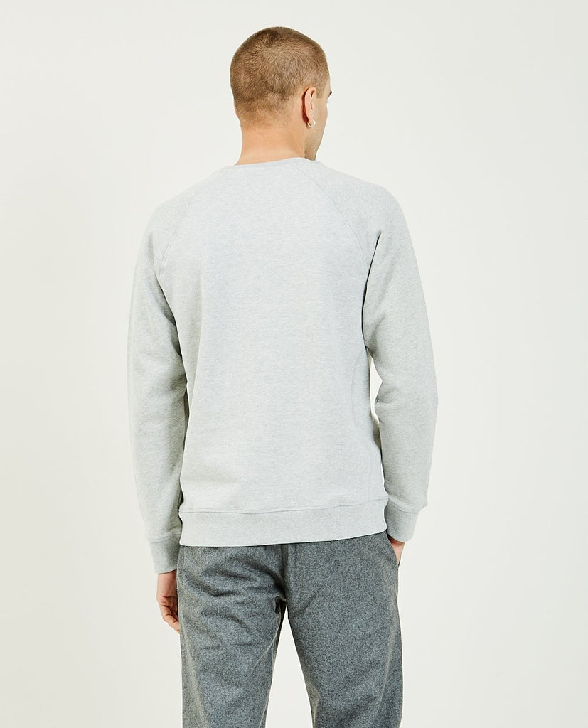 NORSE PROJECTS-Ketel Ivy Wave Logo Sweatshirt-Men Sweaters + Sweatshirts-{option1]