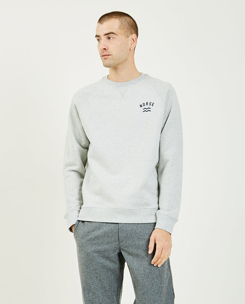 NORSE PROJECTS Ketel Ivy Wave Logo Sweatshirt