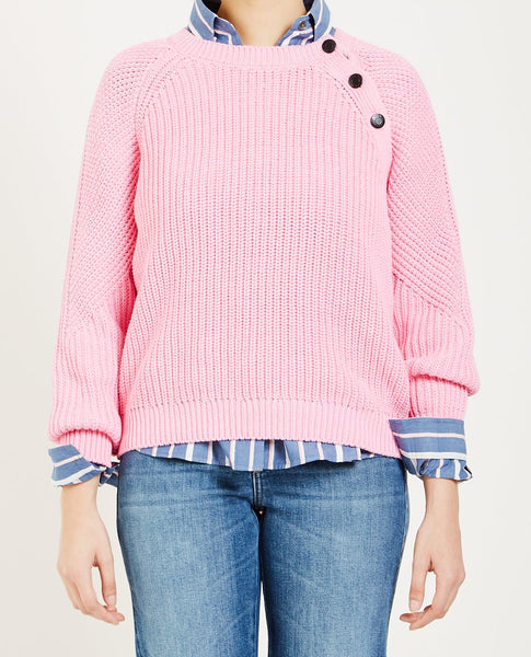 CLOSED KNIT SWEATER FLAMINGO PINK