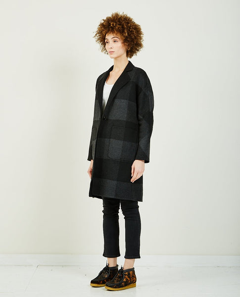 RAILS Larsen Blk Ash Buffalo Check