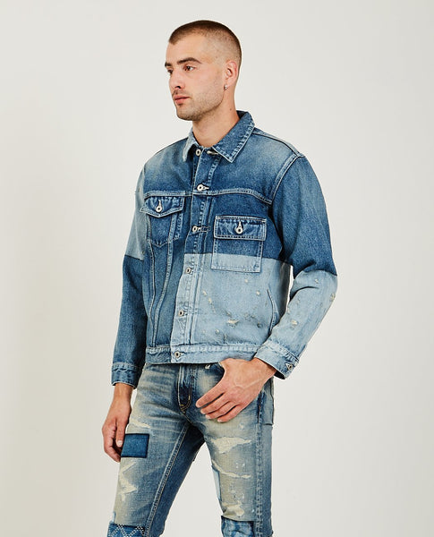 FDMTL Lazer Denim Jacket