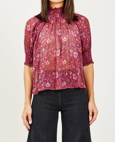 ULLA JOHNSON LEANDRA TOP