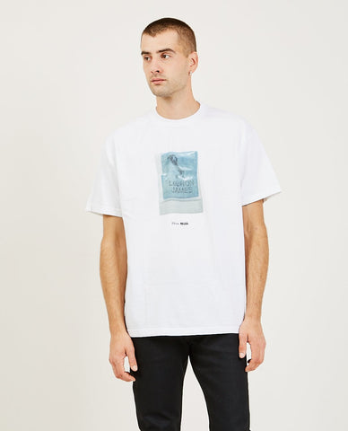 UNCLE PAULIE'S DELI Deli Case Tee White