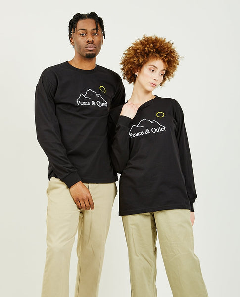 PEACE & QUIET L'horizen Long Sleeve Tee