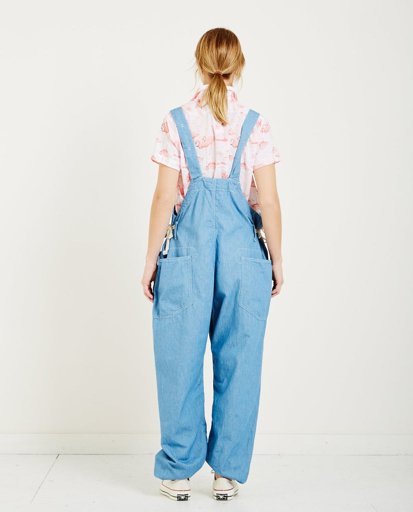 LIGHT WEIGHT DENIM OVERALL-FWK ENGINEERED GARMENTS-American Rag Cie