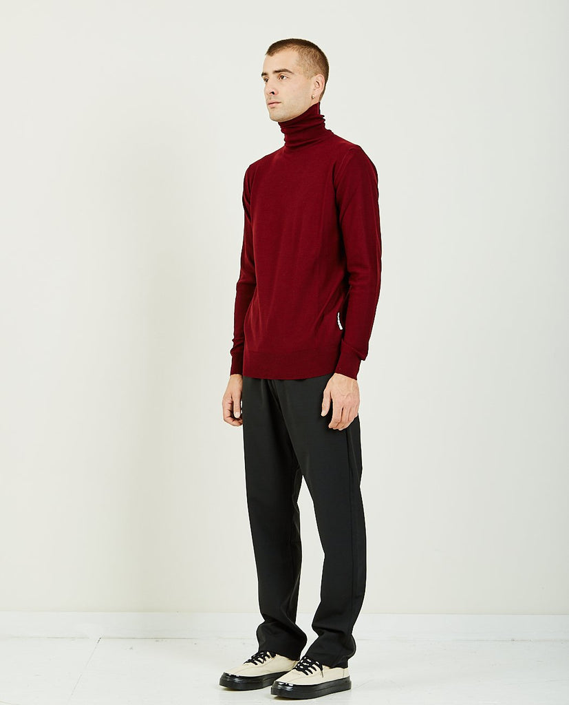 LIGHTWEIGHT TURTLE NECK JUMPER-BAND OF OUTSIDERS-American Rag Cie