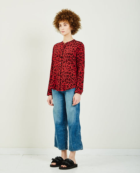 RAILS LILLIAN RED LEOPARD