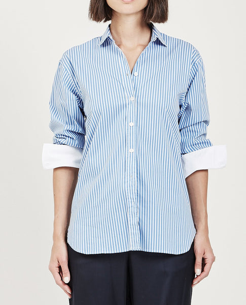 CLOSED LILO STRIPE SHIRT DEEP OCEAN
