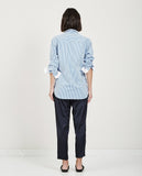 LILO STRIPE SHIRT DEEP OCEAN-CLOSED-American Rag Cie